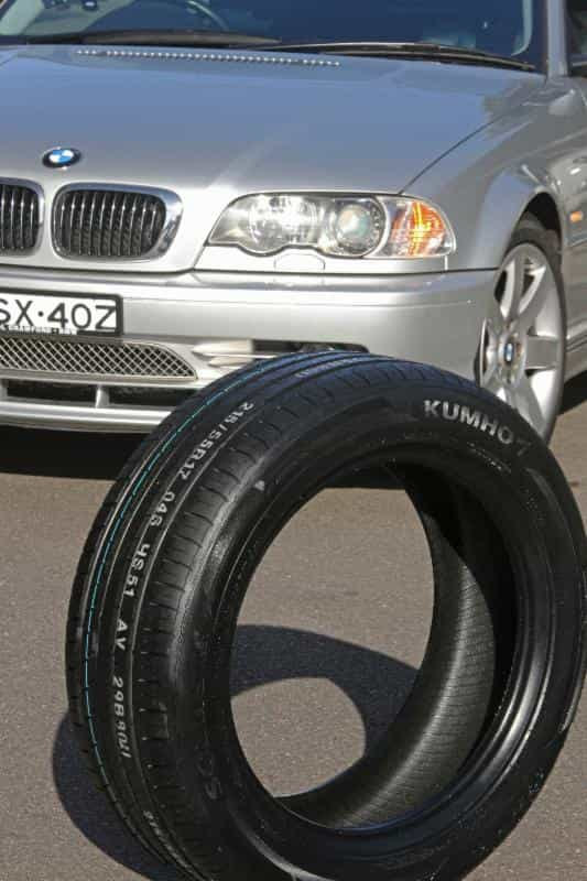Kumho's research and development team were set the challenge of creating and ultra-high performance tyre that doesn't compromise performance handling for comfort