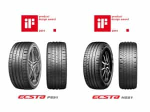 The high-end high-performance Tyres, ECSTA PS91 and ECSTA HS51, gain recognition