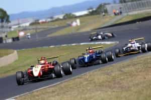The 20-year-old Hodge form South Australia becomes the 58th Gold Star Australian Drivers Champion, grabbing the title in the second of three races at Sydney Motorsport Park