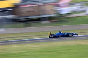 Simon Hodge on his way to claiming the Australian Gold Star in his Kumho shod Mygale F3