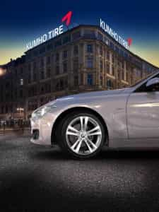 The Kumho ECSTA HM KH31 has been selected by the BMW Group for fitment to models in the 3 Series range and deliveries of this product in 225/55R16 size are now being made to BMW's Munich and Regensburg factories in Germany