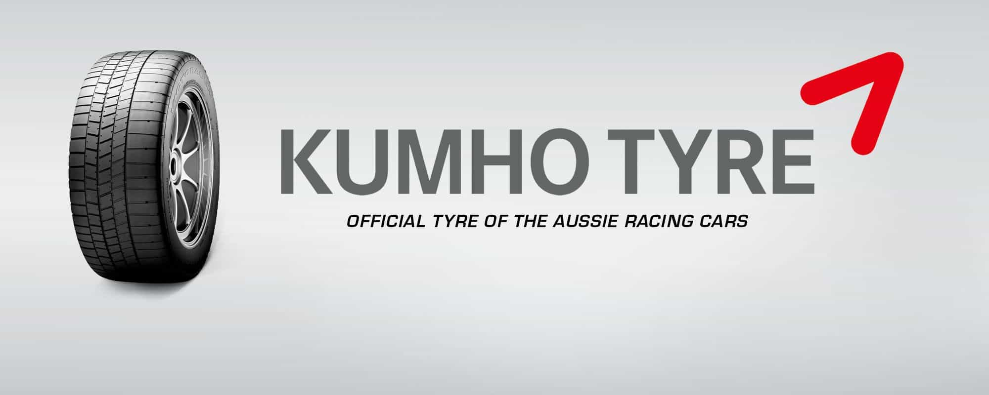 Kumho Driving the Aussie Racing Cars with an all new tyre