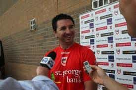 St George Illawarra Dragons coach Steve Price