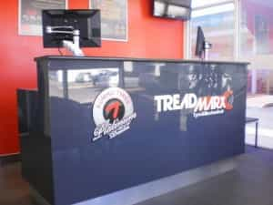 The store is equipped for all tyre and mechanical services including wheel alignment, brakes, suspension as well as batteries and all work comes with a price and customer service guarantee.