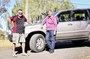 Bruce and Marg Gow set off from Melbourne in January for a trip up the east coast in their Kumho shod Toyota LandCruiser.