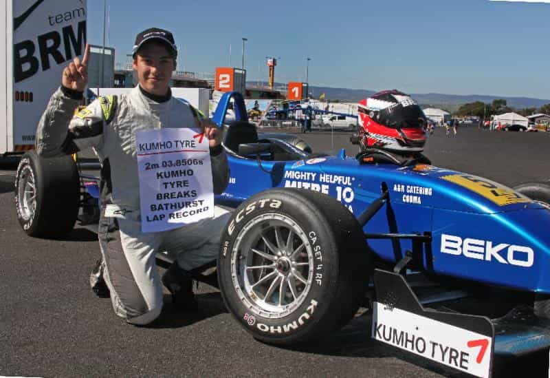 Chris Anthony set a time of 2m03.8245s on the way to claiming his maiden F3 win.