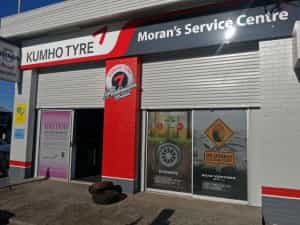 Moran's Service Centre in Maclean is the latest tyre store to join Kumho's Platinum Dealer program.